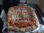 I believe this is the very first snack food stadium... made by me
